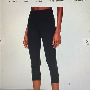 Lulu lemon pace crop